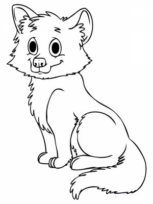 Fox Coloring Pages Printable   lp5n8