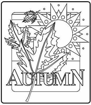 Free Autumn Coloring Pages   92377
