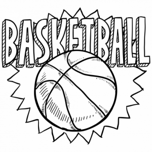 Free Basketball Coloring Pages   834920