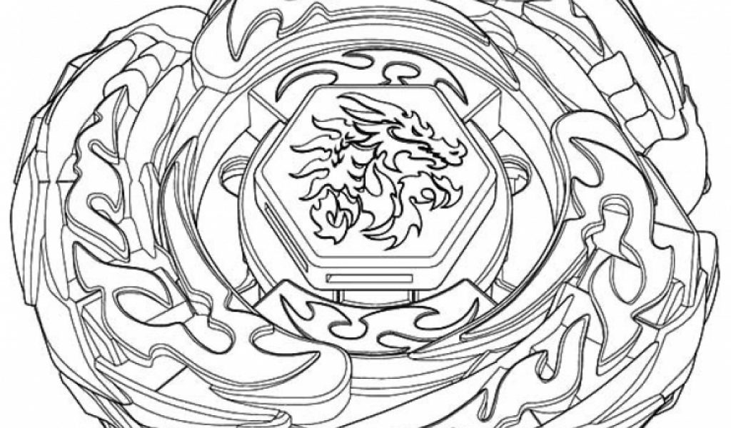Get This Free Beyblade Coloring