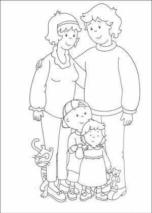 Free Caillou Coloring Pages to Print   6pyax