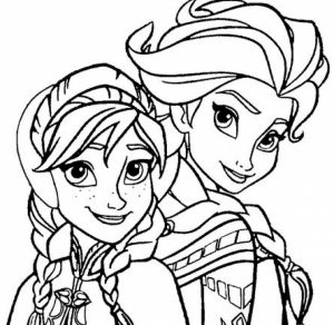 Free Coloring Pages of Princess Anna from Disney Frozen   91659
