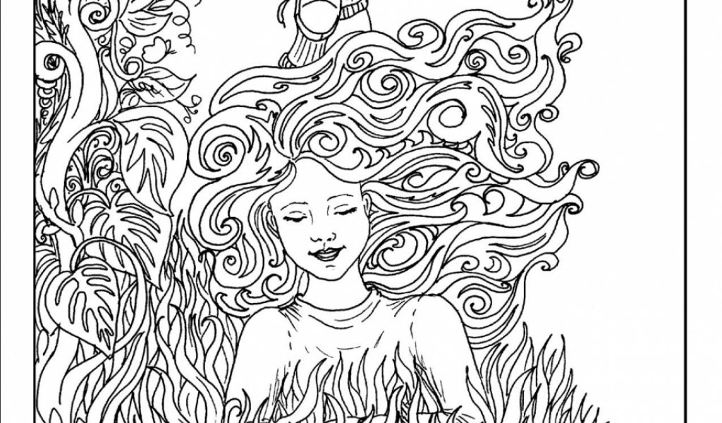 complex coloring pages online - photo#39