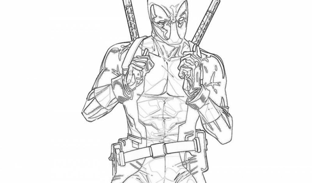 Get This Printable Deadpool Coloring Pages Online 781016: Get This Free Deadpool Coloring Pages 492360
