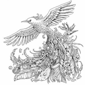 Free Difficult Animals Coloring Pages for Grown Ups   467V7