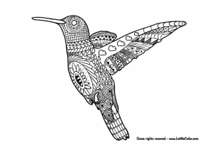 Free Difficult Animals Coloring Pages for Grown Ups   FD3659