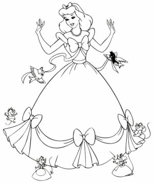 Free Disney Princess Coloring Pages   834917