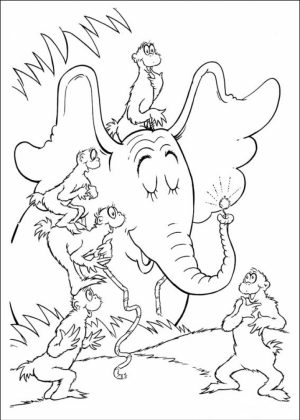 Free Dr Seuss Coloring Pages   16970