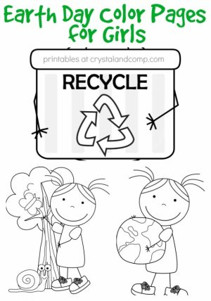 Free Earth Day Coloring Pages for Kids   56617