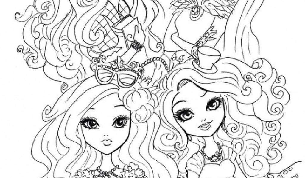Get This Free Ever After High Coloring Pages 20627