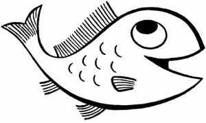 Free Fish Coloring Pages   5718
