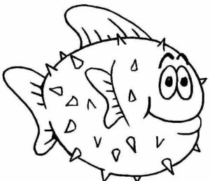 Free Fish Coloring Pages to Print   105384