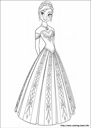 Free Frozen Coloring Pages   787923