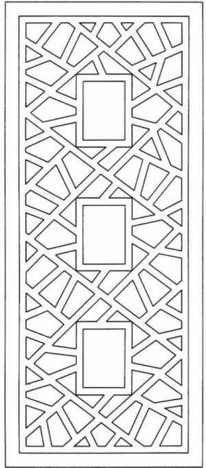Free Geometric Coloring Pages   6983