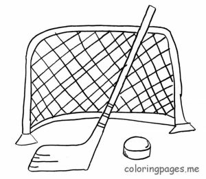 Free Hockey Coloring Pages to Print   39122