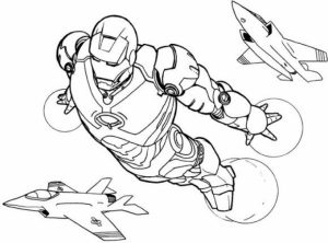 Free Ironman Coloring Pages   75908