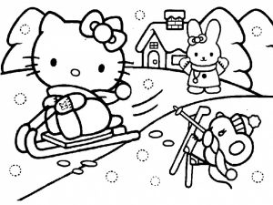 Free Kitty Printable Coloring Pages for Kids   80691