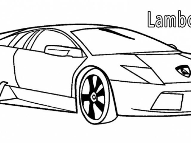 Free Colouring Pages Lamborghini : Get this free lamborghini coloring pages 4488 !