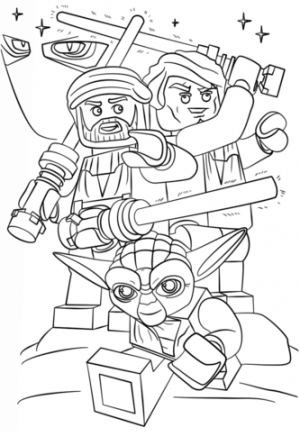 Free Lego Star Wars Coloring Pages   33677