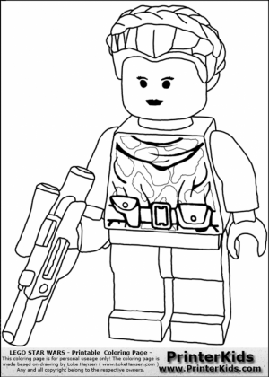 Free Lego Star Wars Coloring Pages to Print   51095