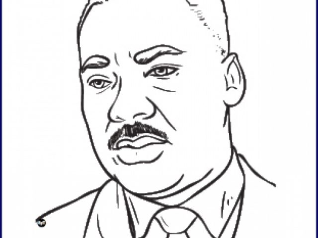 Free Martin Luther King Jr Coloring Pages For Toddlers Phr With Page