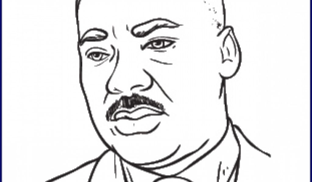 Coloring Sheet Of Martin Luther King Jr : Get this free martin luther king jr coloring pages for toddlers
