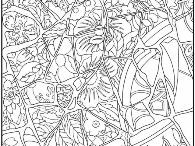 free mosaic coloring pages to print 77417