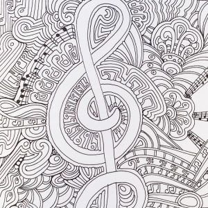 Free Music Coloring Pages for Toddlers   05438
