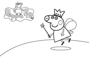 Free Peppa Pig Coloring Pages   1862