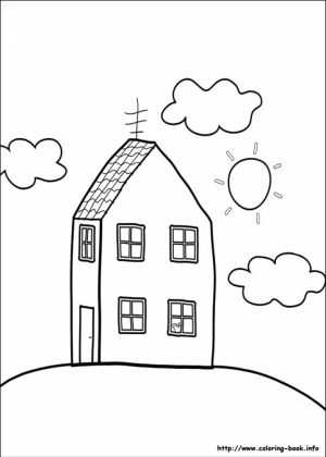 Free Peppa Pig Coloring Pages   6984