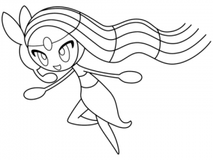 Free Pokemon Coloring Page   92896