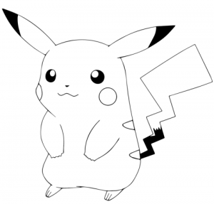 Free Pokemon Coloring Page to Print   18243