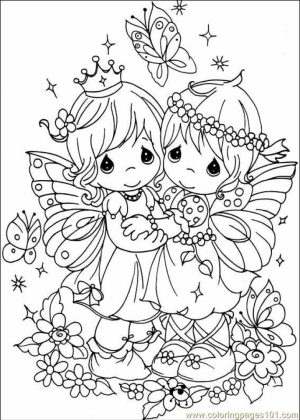 Free Precious Moments Coloring Pages   5sg1