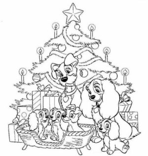 Free Preschool Disney Christmas Coloring Pages to Print   T77HA