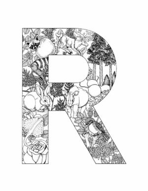 Free Preschool Letter Coloring Pages to Print   OLoEv