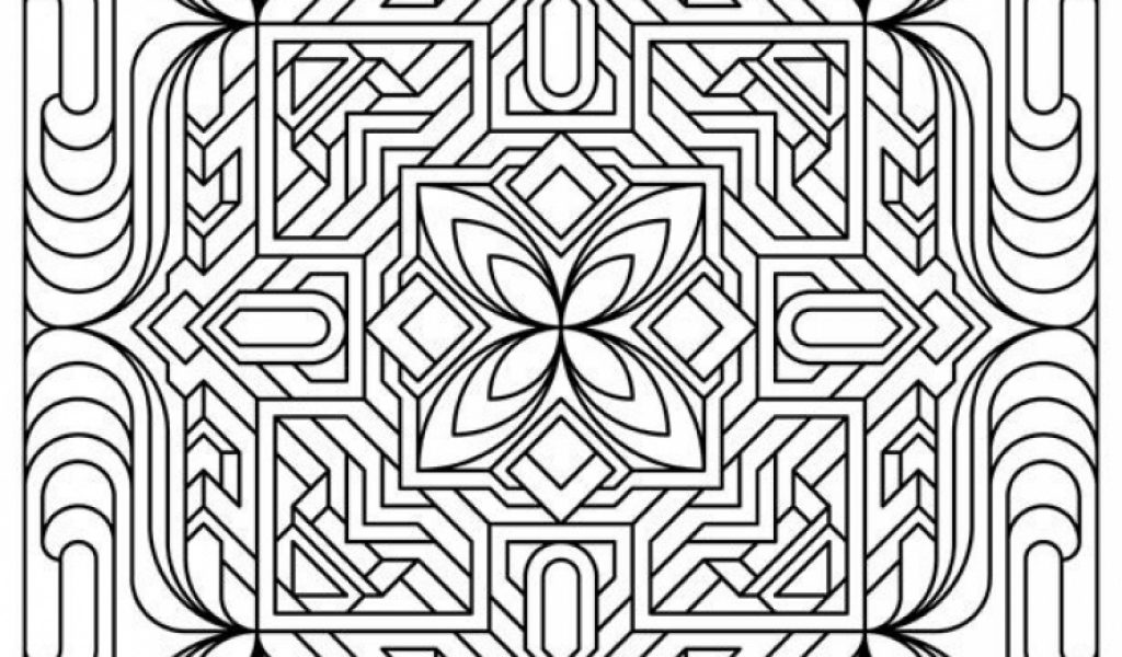 Pattern Coloring Sheets Printables : Get this free printable art deco patterns coloring pages for