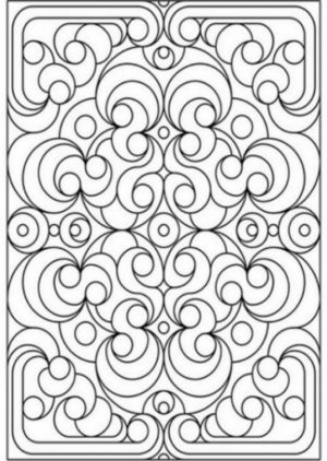 Free Printable Art Deco Patterns Coloring Pages for Grown Ups   6765ci