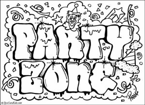 Free Printable Awesome Coloring Pages for Kids   HAKT6