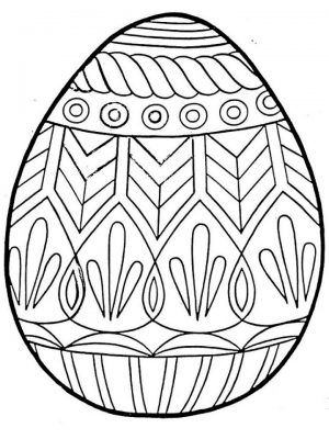 Free Printable Easter Egg Coloring Pages for Adults   36451