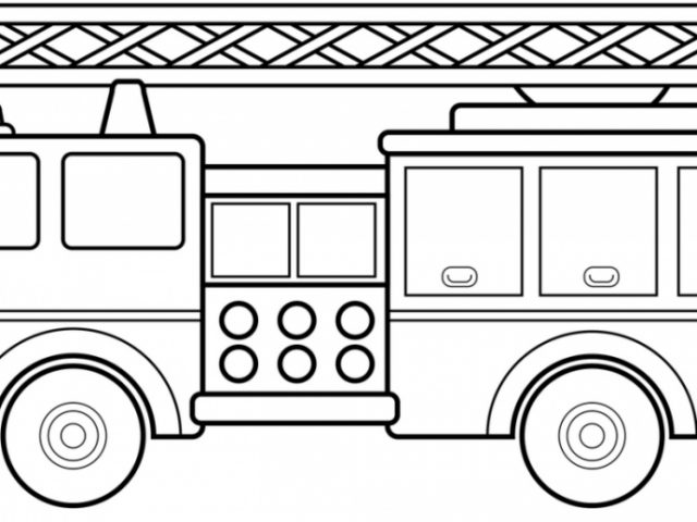 good free printable fire truck coloring page for kids with free fire truck coloring pages printable