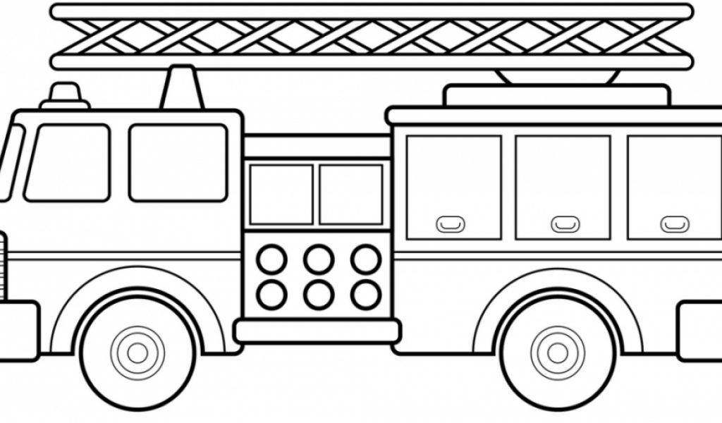 get this free printable fire truck coloring page for kids 29656