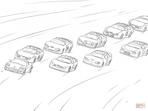 Free Printable Nascar Coloring Pages for Children   63962