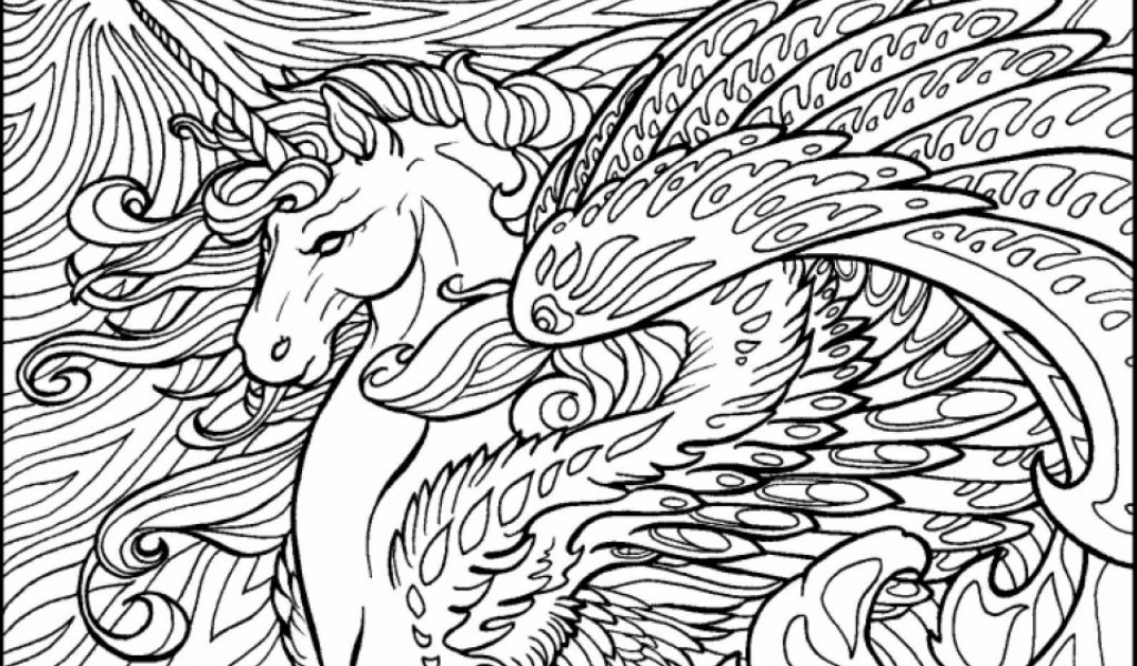 Colouring In Sheets Unicorn : Printable unicorn coloring pages