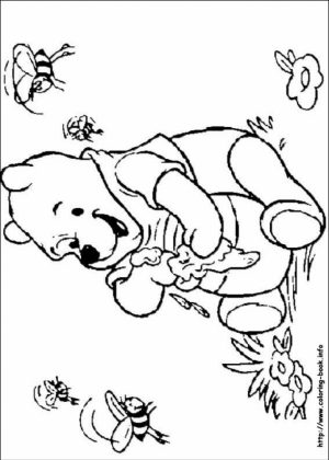 Free Printable Winnie the Pooh Coloring Pages   37109