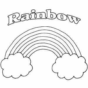 Free Rainbow Coloring Pages to Print   t29m20