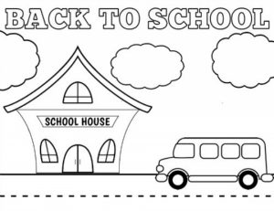Free School Coloring Pages to Print   590f22