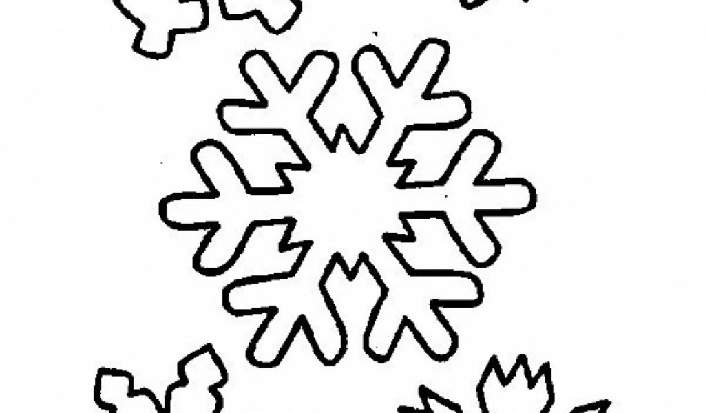 Get This Free Snowflake Coloring Pages to Print Out 31748