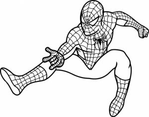 Free Spiderman Coloring Pages to Print   920511