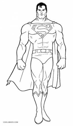 Free Superman Coloring Pages   56950