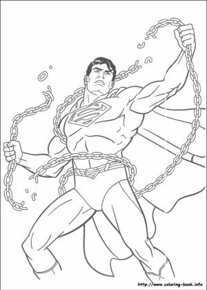 Free Superman Coloring Pages   90194